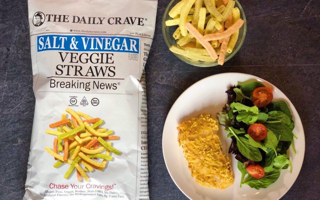 Crispy Salt and Vinegar Cod
