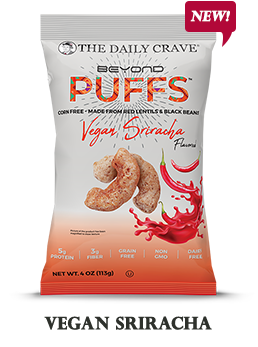 Vegan Sriracha Puffs